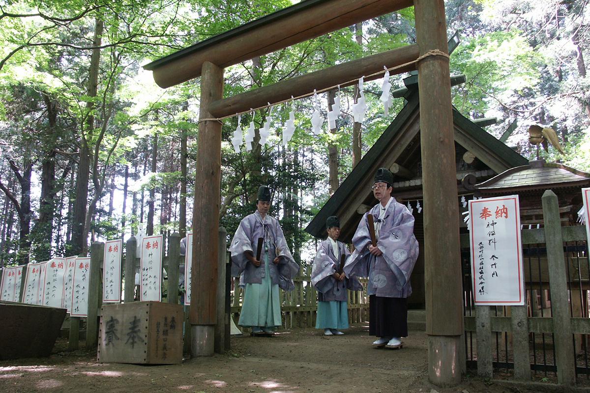 宝登山神社奥宮祭