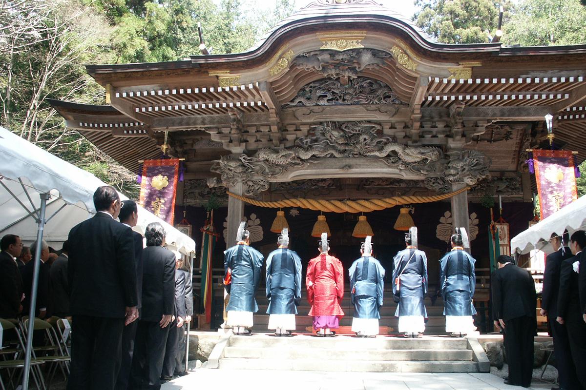 宝登山神社例大祭