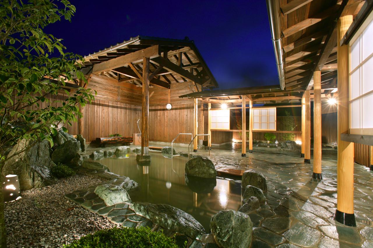 長瀞観光のあとは、日帰り温泉で。